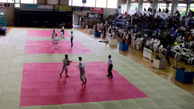 Giornata dedicata ai giovani judoka al Palasport di Giaveno