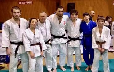 I judoka biellesi impegnati allo stage internazionale di Bardonecchia
